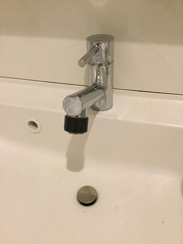 北茨城の洗面所詰まり解消