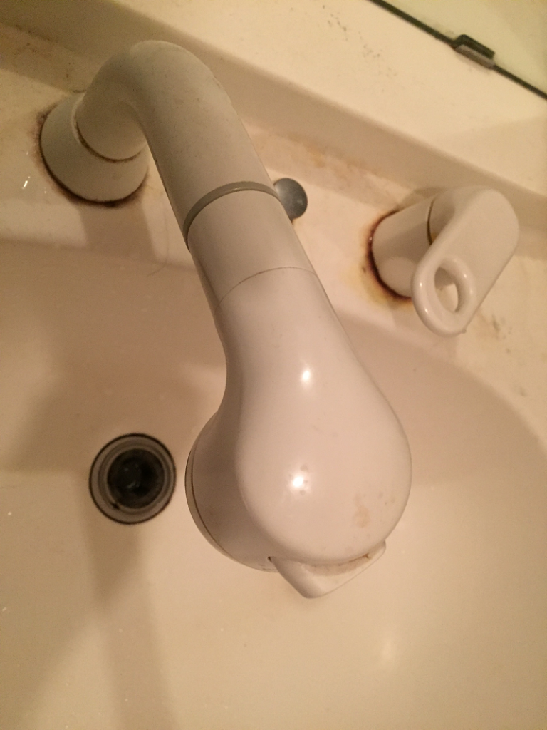 土浦市で洗面所水漏れ発生