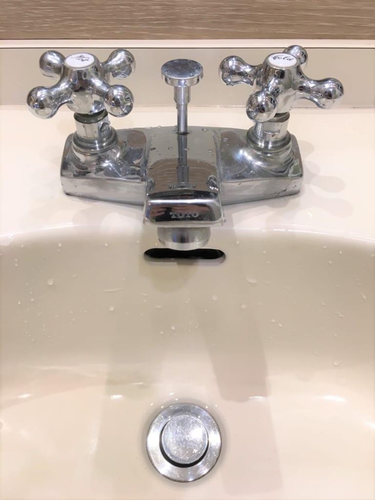 坂東市の洗面水漏れ