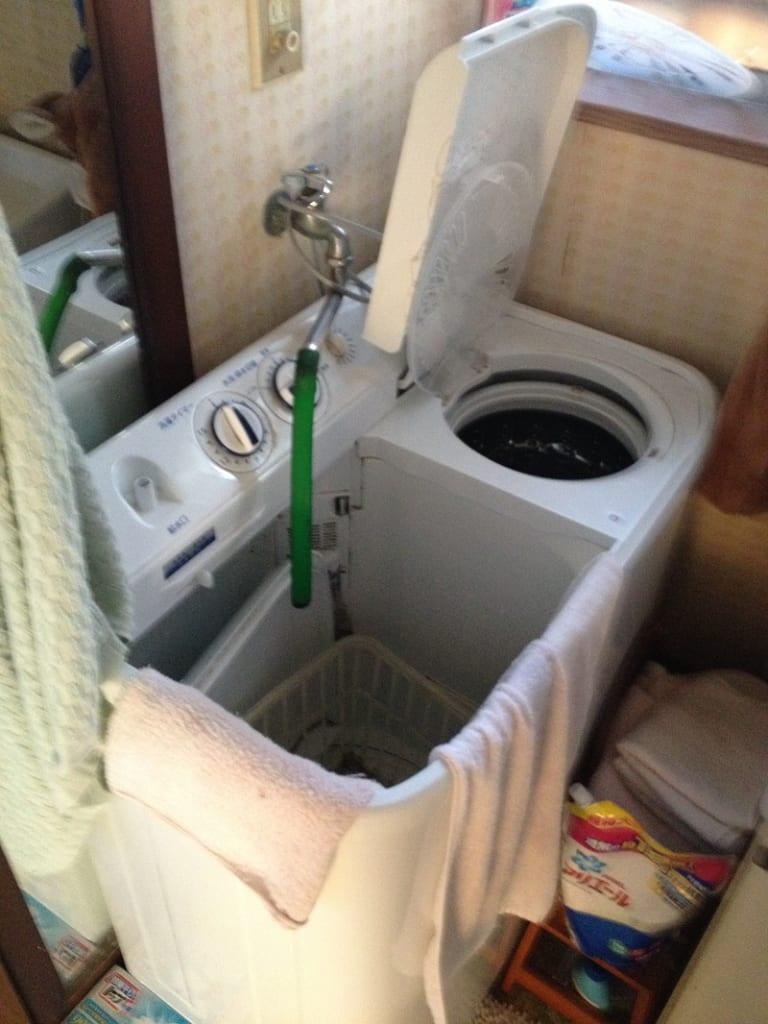 常陸大宮市の洗濯機水漏れ