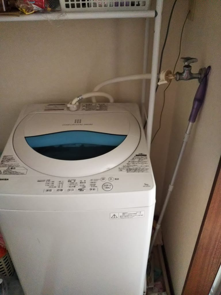 石岡市で洗濯つまり