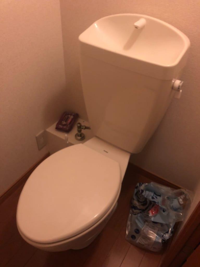 かすみがうらのトイレ止水不良