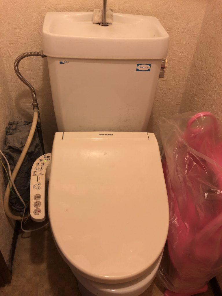 ひたちなか市でのトイレ水漏れ修理事例