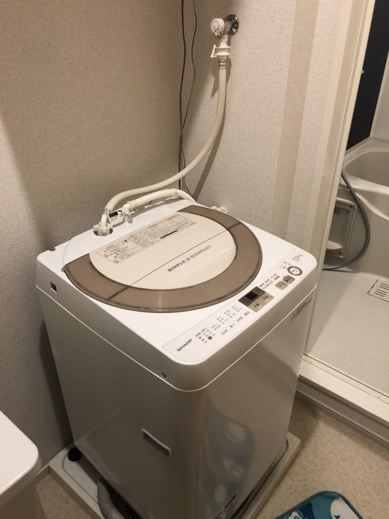 洗濯つまりの対処
