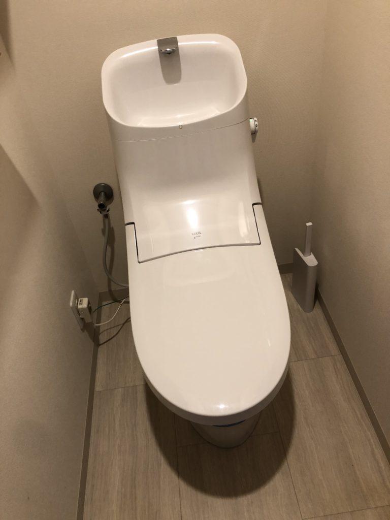 トイレのつまり修理事例