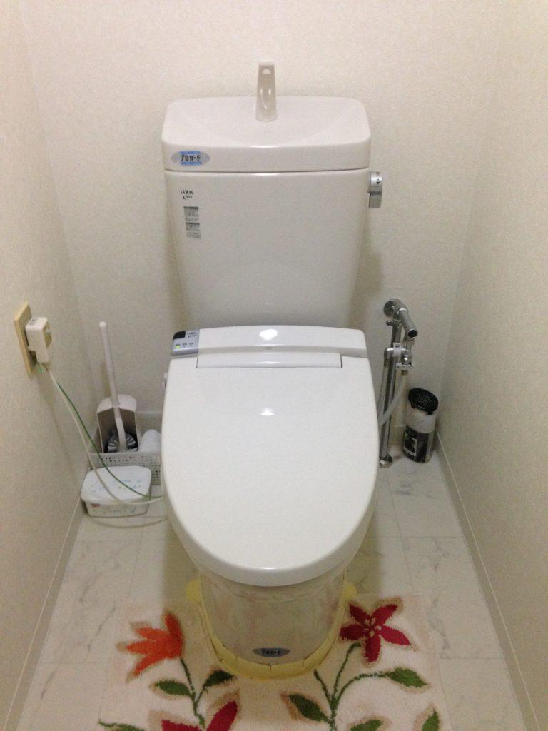 トイレ詰まりで出張要請あり