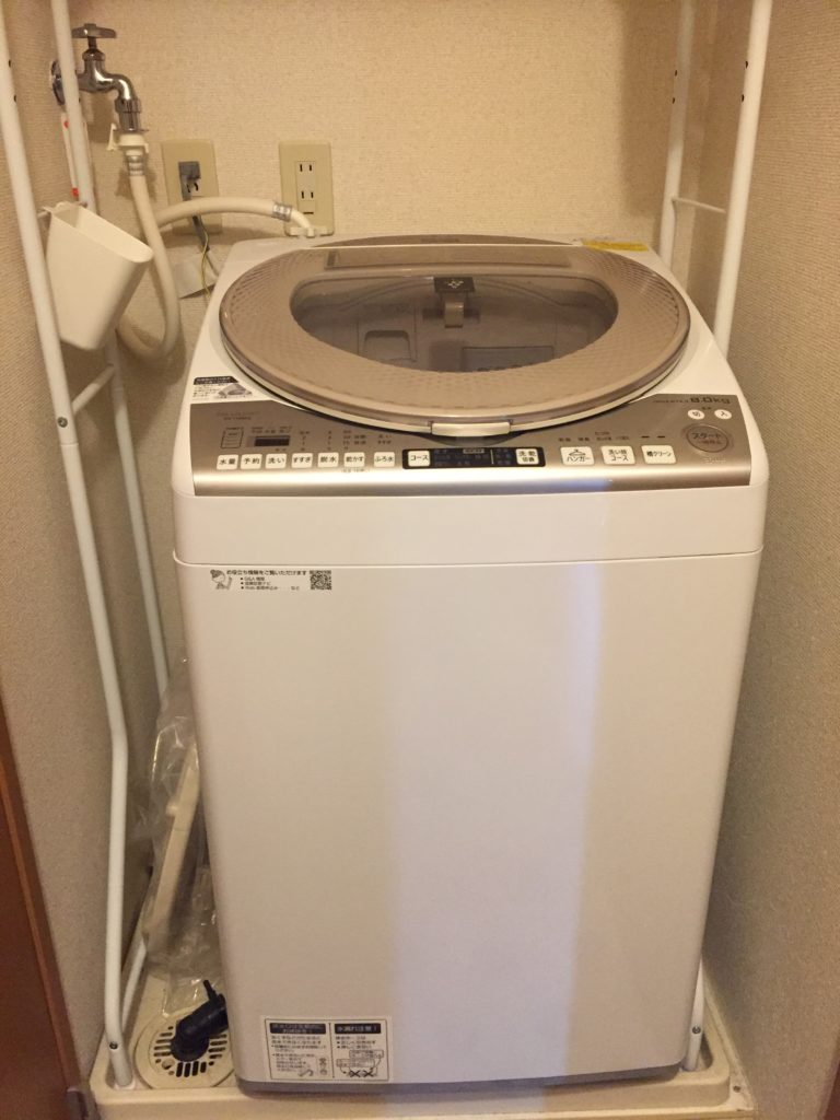 洗濯機の水溢れ
