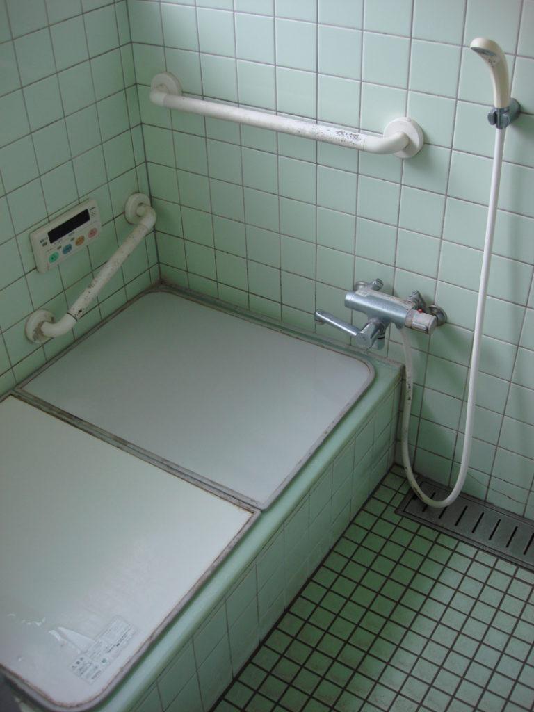 昔ながらの在来風呂