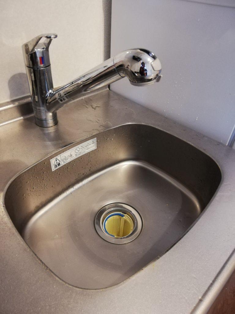 茨城県水戸市にてカフェの調理場排水つまり修理をしました。