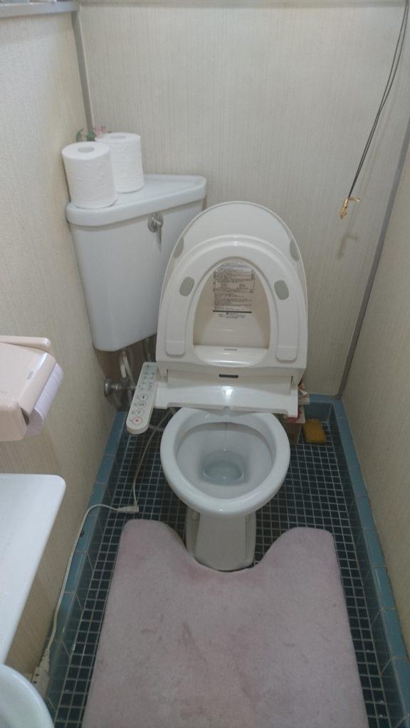 茨城県水戸市千波町でトイレの床水漏れ修理対応