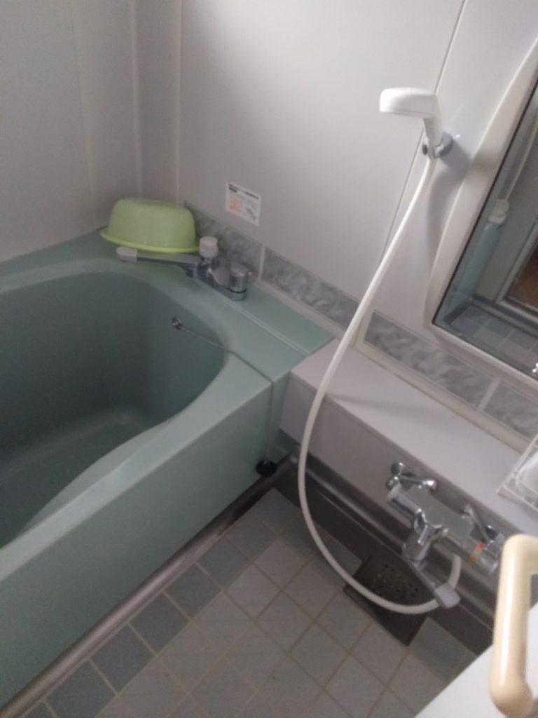 茨城県水戸市でお風呂の排水水漏れ修理施工事例
