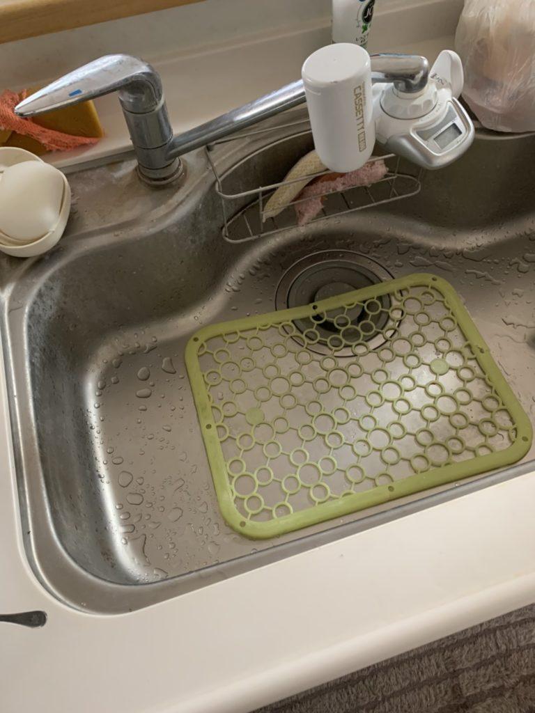 常総市でシンクの水漏れ修理の施工事例