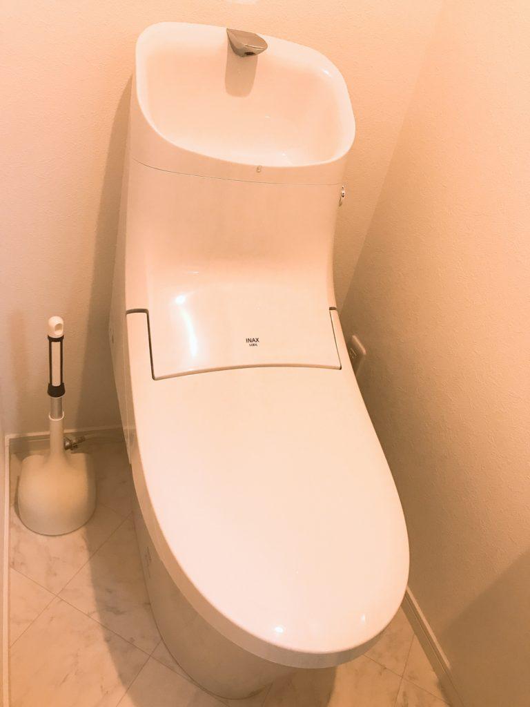 笠間市でトイレの水漏れ修理を行いました。