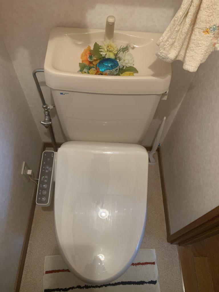水戸市でトイレつまり修理の施工事例