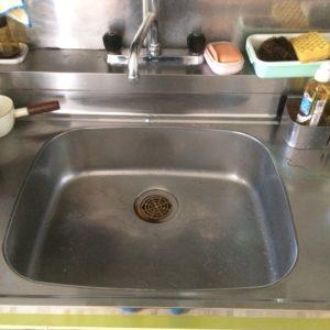 キッチンの水漏れ