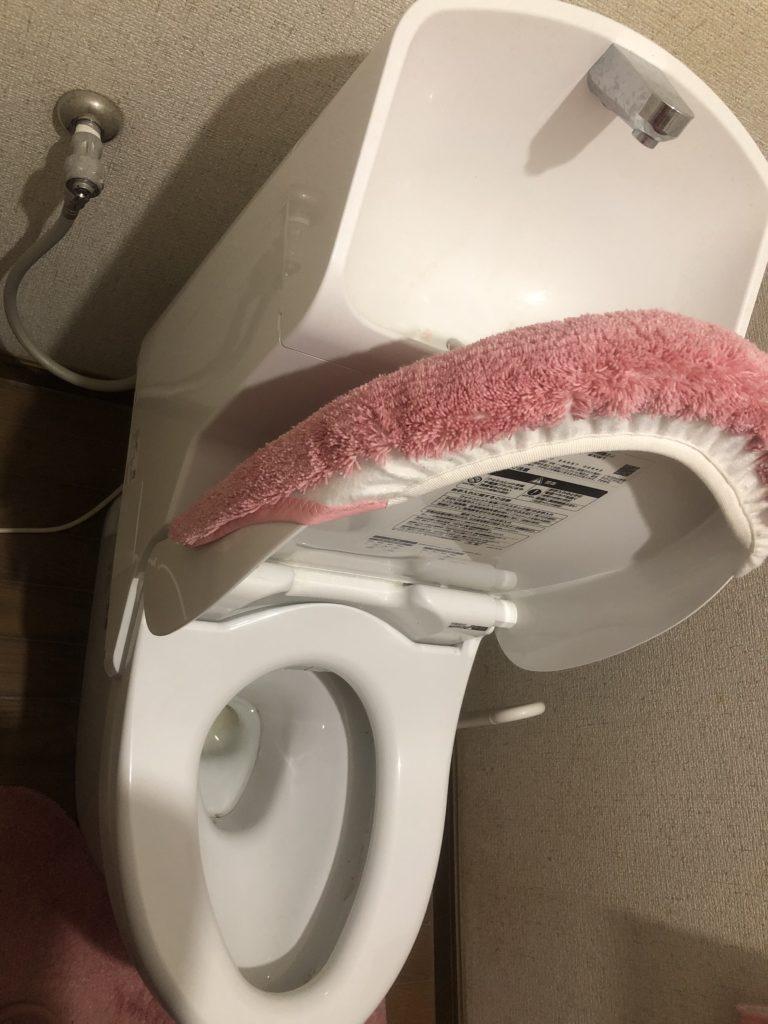 水戸市でトイレの水漏れ修理を行いました。