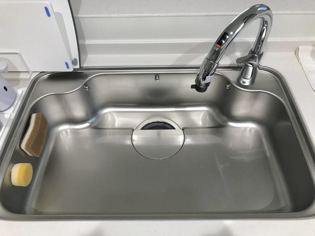 土浦市で台所の蛇口水漏れ修理の施工事例
