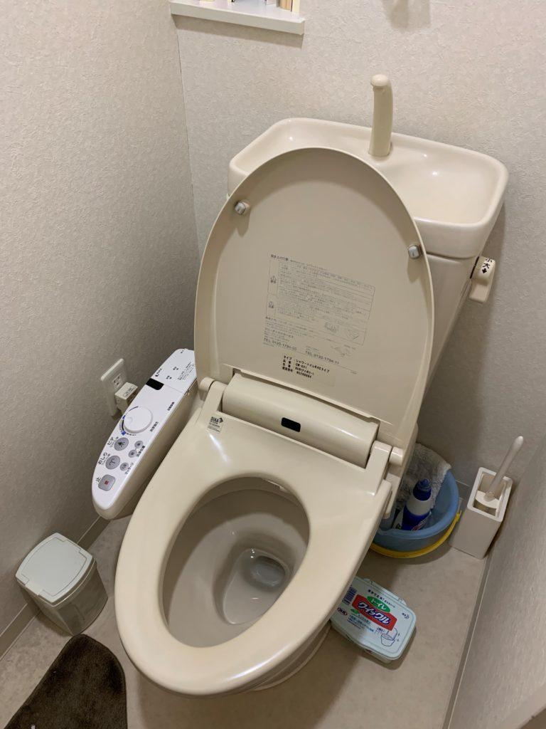 水戸市でトイレつまりトラブルを解決しました。