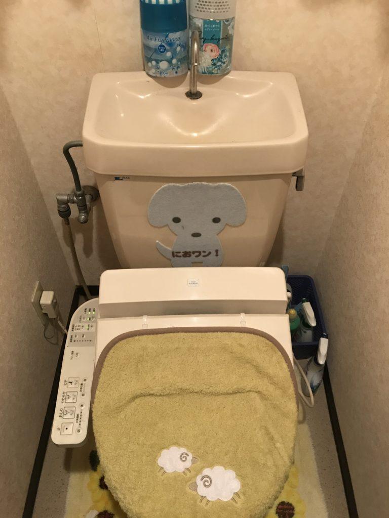 高萩市でトイレの水漏れ修理を行いました。