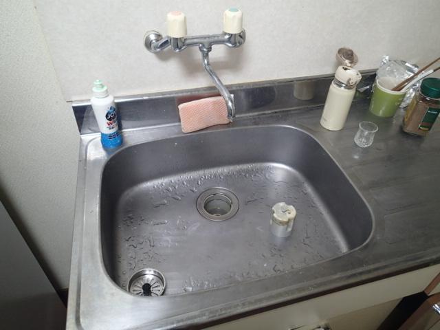 稲敷市で台所のつまりトラブルを解決しました。