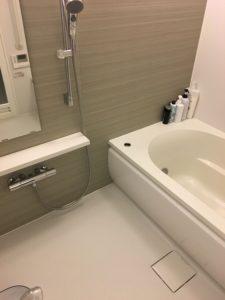 浴室水漏れ