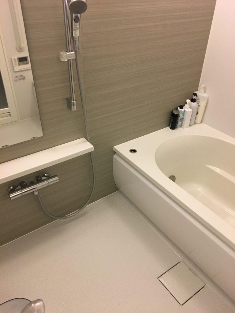 取手市で浴室水漏れトラブルを修理しました。