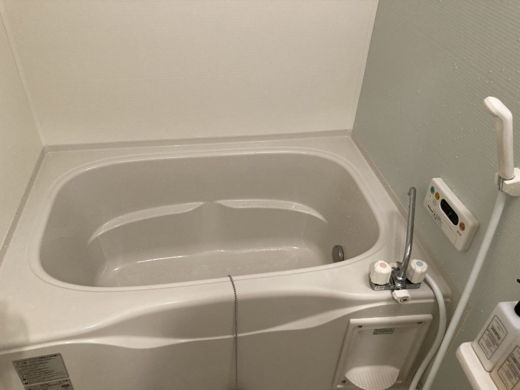 日立市でお風呂のつまりトラブルを解消しました。