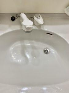 洗面蛇水漏れ