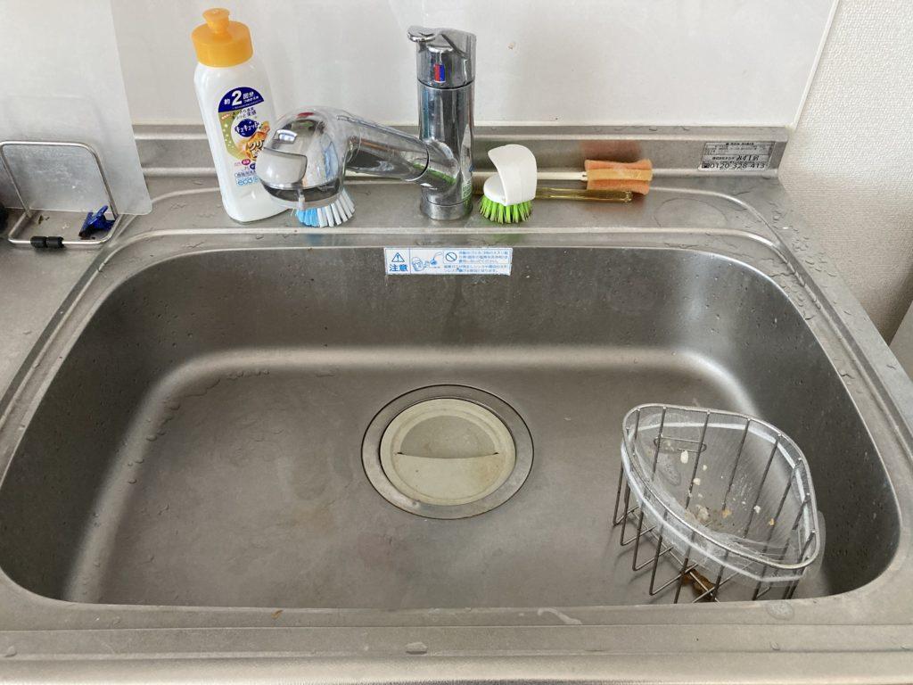 常陸太田市で台所のつまりトラブルを解決しました。