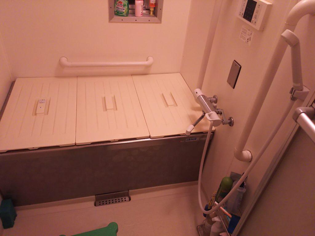 茨城県龍ヶ崎市で浴室の蛇口水漏れ修理事例