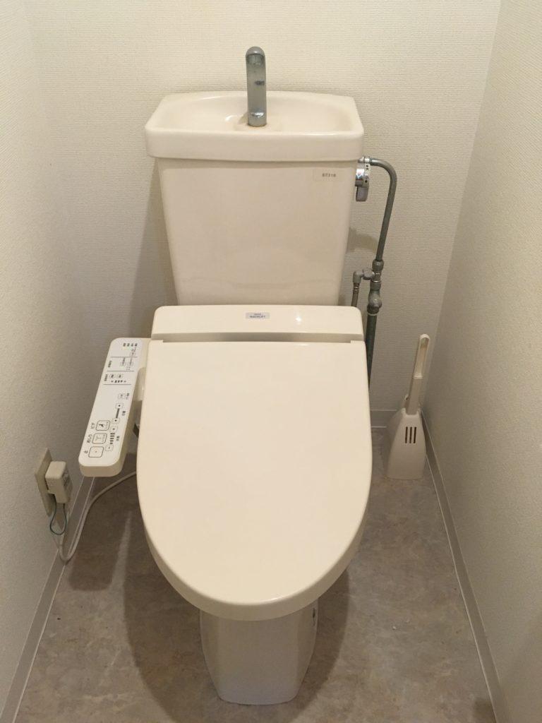 かすみがうら市でトイレの水漏れ修理を行いました。