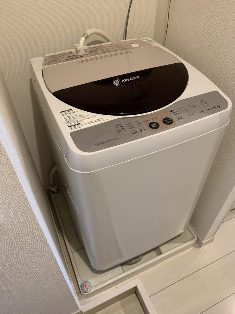 古河市で洗濯機の排水つまりトラブルを解決しました。