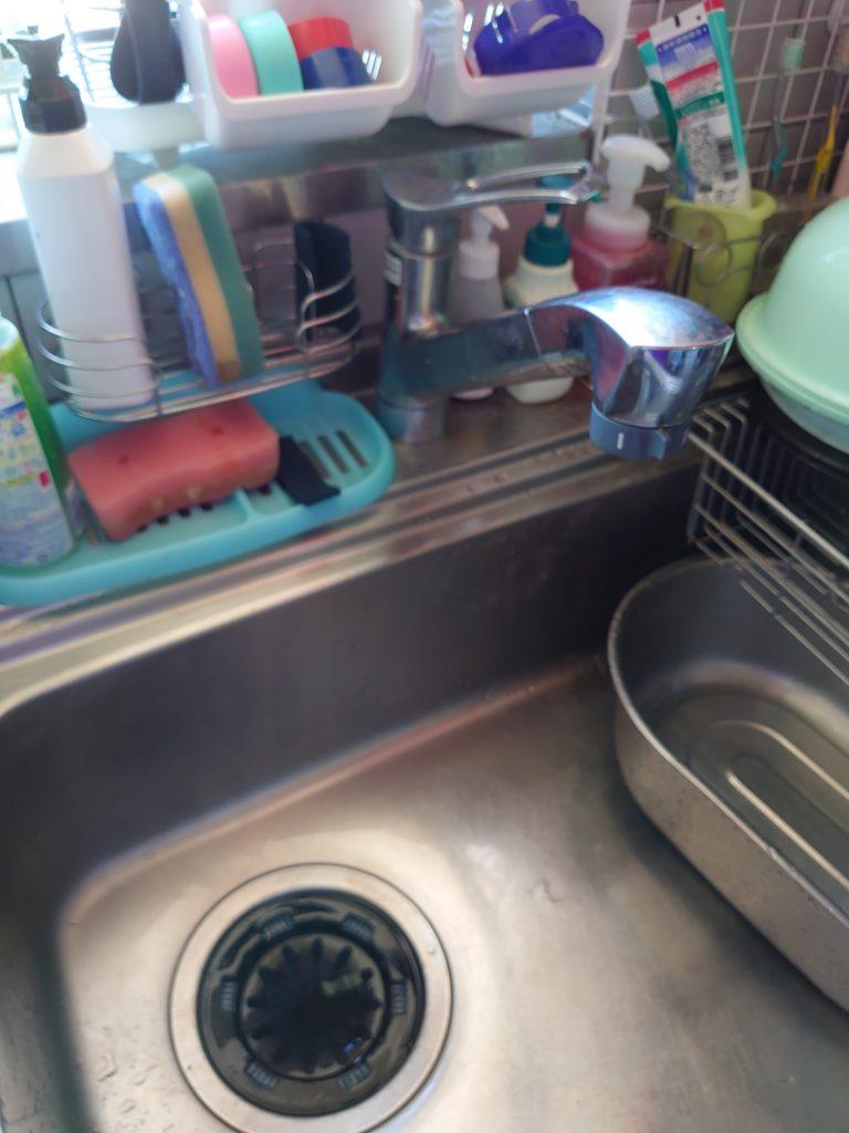 つくば市で台所排水の高圧洗浄作業