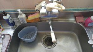 台所排水水漏れ