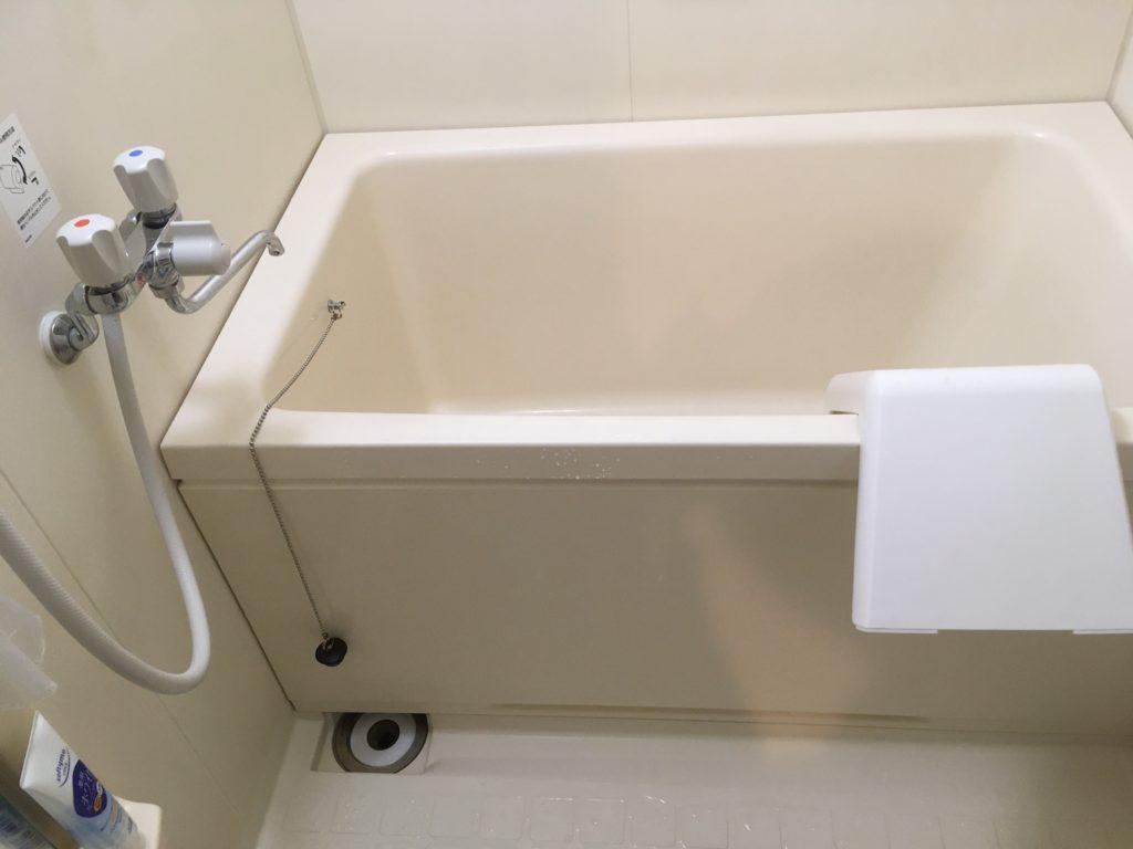 浴室の蛇口水漏れ