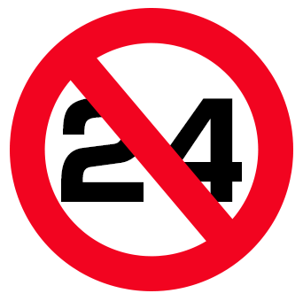 24時間受付廃止